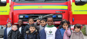 The Fire Brigade visit Foundation Stage