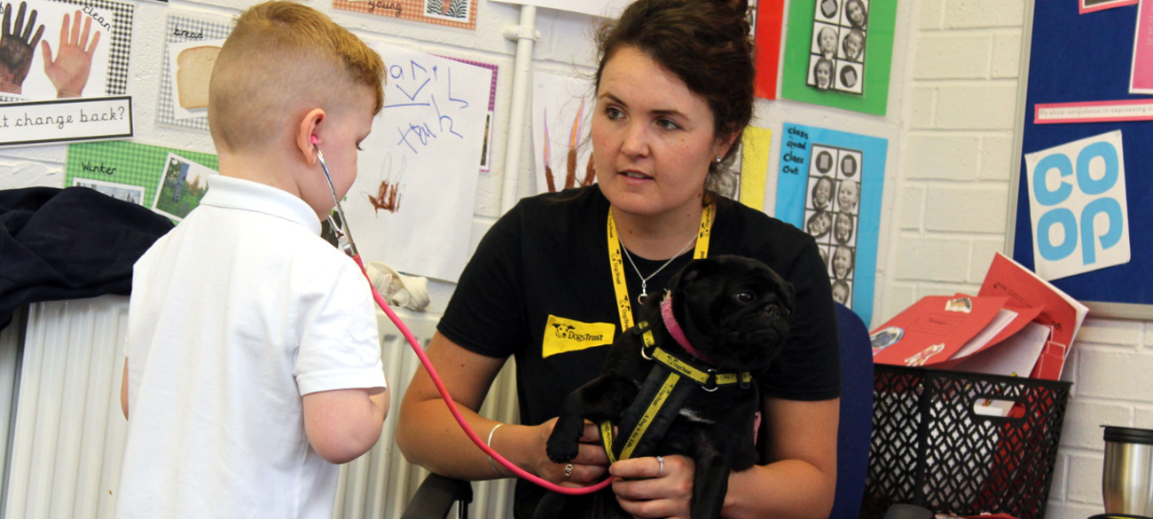 Dogs Trust Visit Reception