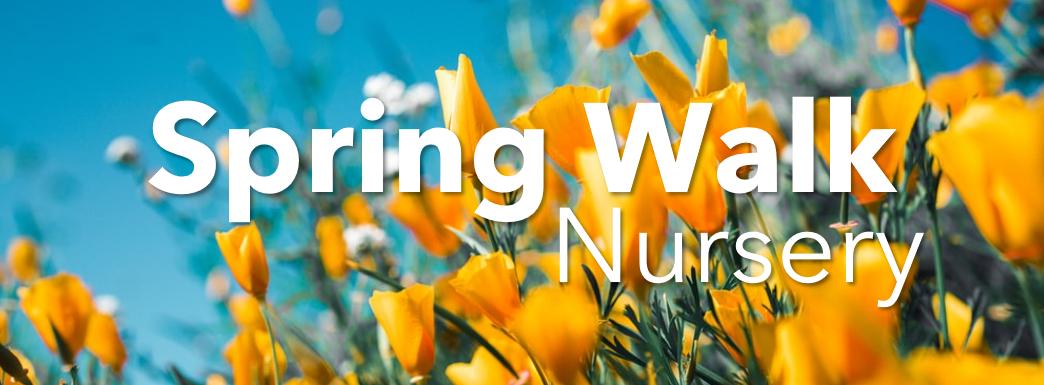 Nursery Spring Walk
