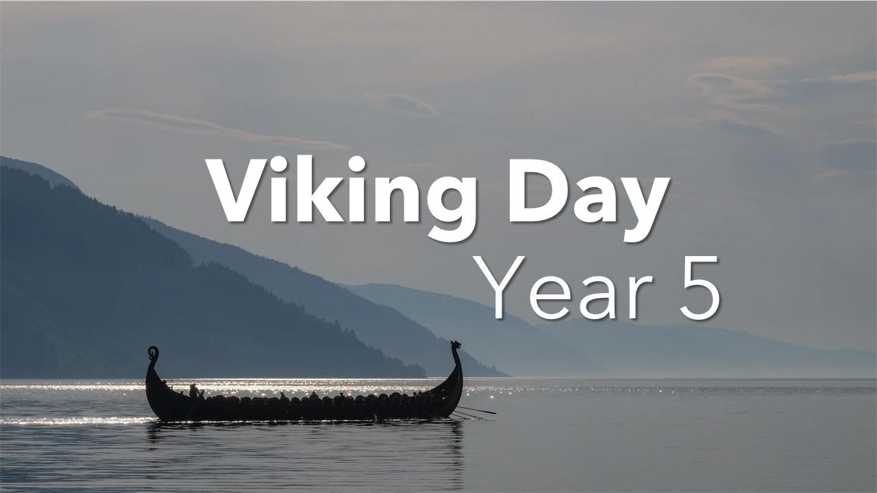 Year 5's Viking Day